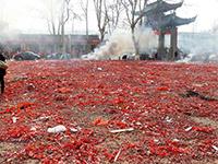 La fin des pétards et feux d'artifice en Chine?