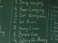 L'écriture des noms chinois